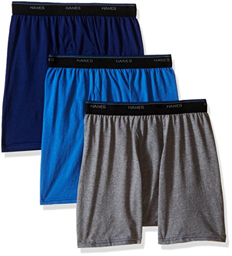 Hanes Men's FreshIQ ComfortBlend™ Boxer Brief 3-Pack