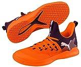 Puma Rise XT Fuse 2 Handballschuhe Orange Black-Biscay Green White, 47 (UK 12)