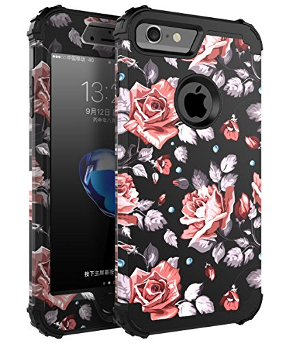 iPhone 6Plus Case, iPhone 6S Plus Fall, skylmw DREI Schicht Heavy Duty High Impact Resistant Hybrid Schutzhülle Case für iPhone 6Plus/6S Plus (nur für 14cm) (Case Hybrid Iphone 6plus)