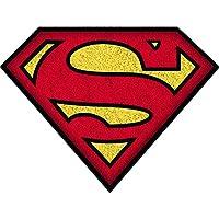 Warner Bros Superman Felpudo, Algodón, Color Azul