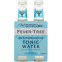 Fever-Tree Mediterranean Tonic Water 4x200 ml (Pack of 6, 24 bottles)