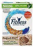 Nestlé FITNESS, Frühstücks-Flakes aus 57% Vollkorn, Frühstücks-Flakes mit weniger Zucker, mit Vitamin B2, B6, Calci