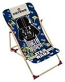Star Wars 709466Strandliegestuhl für Kinder Metall blau 61x 43x 66cm