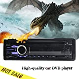 vente Hot In dash 1DIN voiture autoradio panneau fixe Universal Car Stereo 1 din CD Lecteur de DVD USB SD FM Aux-en voiture Radio MP3 din simples