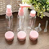 #8: Orpio Plastic Portable Travel Cosmetics Bottles Plastic Pressing Spray Bottle for Makeup, Cosmetic, Toiletries Liquid Containers Bottles.