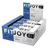 FitJoy - barrette nutrizionali - biscotti con crema - 12 pezzi