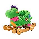 Schaukeltier Dino mit Rädern