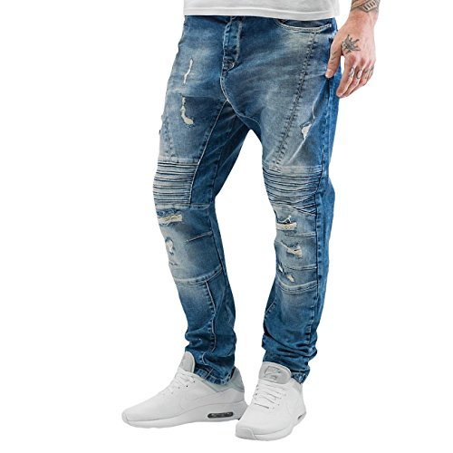 Just Rhyse Herren Jeans / Antifit Ikaika Blau
