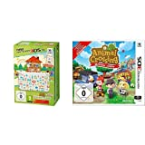 New Nintendo 3DS XL - Konsole (Special Edition) + Animal Crossing: Happy Home Designer  (vorinstalliert) & Animal Crossing: New Leaf - Welcome amiibo (ohne amiibo Karte)
