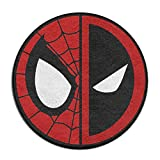 Yellownn Spiderman piscine Logo rond Paillasson/Tapis d'entrée Tapis de sol Paillasson