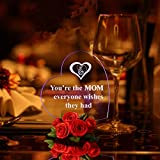 Giftgarden Mama LED Herzform Deko Happy Mutter - 3