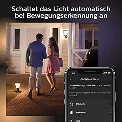 Philips Hue Outdoor Sensor, schwarz