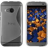 mumbi S-TPU Schutzhülle für HTC One Mini 2 Hülle transparent schwarz