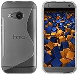 mumbi S-TPU Schutzhülle HTC One Mini 2 Hülle transparent