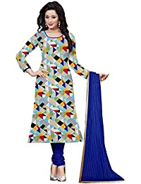 Hari Om Present Summer collection Crap Dress Material For Woman's (DRESS_TP Dress Material_Free Size)