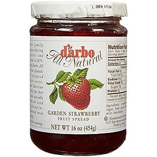 D'arbo Strawberry Fruit Spread, 16 oz
