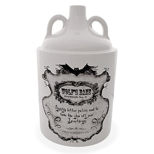 Bottiglia Decorativa Potion Bottle Wolf Bane No 5 Nemesis Now (23cm)