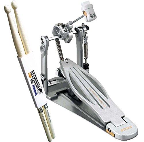 Tama hp910ln Speed Cobra único Pedal Soporte eléctrica + baquetas Keepdrum 1par