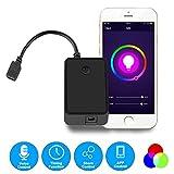 OWSOO Mini-Wifi-RGB-LED-Streifen-Controller von Smart Phone Control Funktioniert mit Amazon Alexa Voice Control