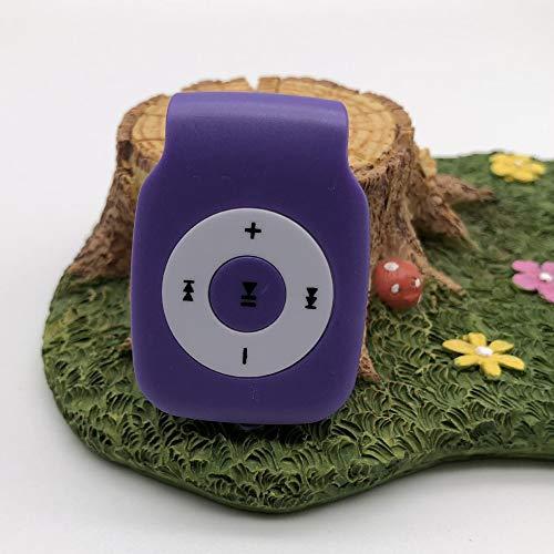 Sen-Sen MX-304 MP3 / MP4-Player mit Micro-SD-Karte Mini-USB-Anschluss Digital Music Player Lila - Micro-mp4-player