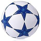 Haiyemao Cintura Allenamento Calcio Pallone da Calcio con Pallone Antiscivolo di Dimensioni 5 Stelle TPU Cintura Allenamento Calcio Adatta per Campo da Calcio
