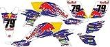 Red Bull YFZ individuell Quad Graphics Aufkleber Aufkleber Kit