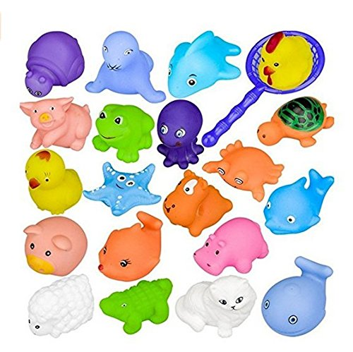 Bath toys, Chickwin Bath toys for babies Bath toys for children Toys for children (10pcs)