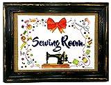 AnneSvea Sewing Room Nähen Nähzimmer Druck Poster Nähmaschine Sewing Handmade Deko