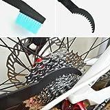 HUAYANG 2 in 1 Fahrrad Fahrradkette Reinigungsbürste Kurbeln Reiniger ScrubberWerkzeug
