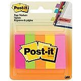 Post-it Marque-page en Papier 15 x 50 mm - Pack de 5 x 100 feuilles
