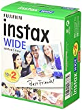 Instax 16385995 Wide Film, 20 Shot Pack
