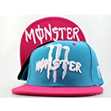 WAKNOER Monster Energy Baseball Cap,Damen Unisex Herre Hut