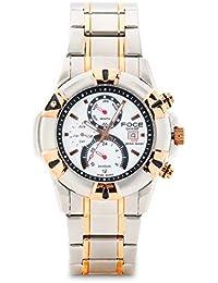 FOCE Analog Chronograph White Dial Men's Calendar Watch - F911GRM-WHITE