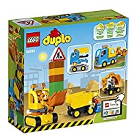 ‏‪LEGO DUPLO Town Truck & Tracked Excavator safe 10812‬‏
