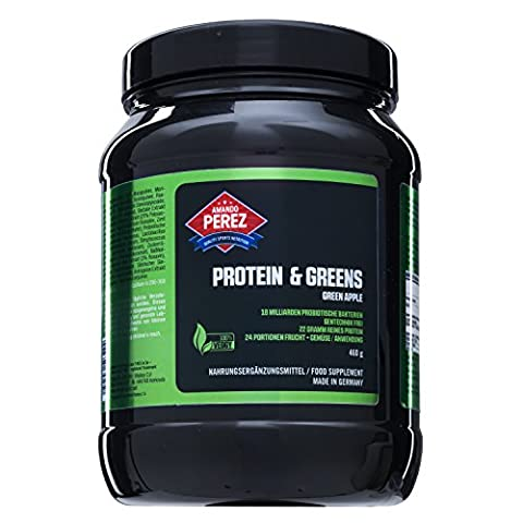 Protein & Greens - 100% Vegan Energy Protein Drink -