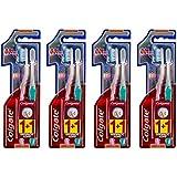 Colgate Brosse à Dents Slimsoft Ultra Compacte 21 g - Lot de 4