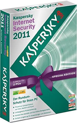 Kaspersky Internet Security 2011 2 User Limited