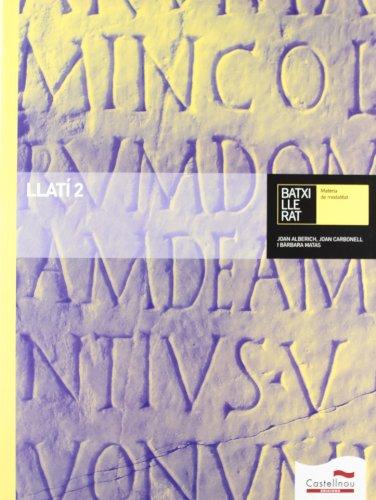 Llatí 2 Batxillerat (LL+CD) - 9788498046366