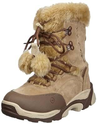 Hi-Tec Moritz 200, Unisex-Child Snow Boots, Brown/Cream, 1 UK