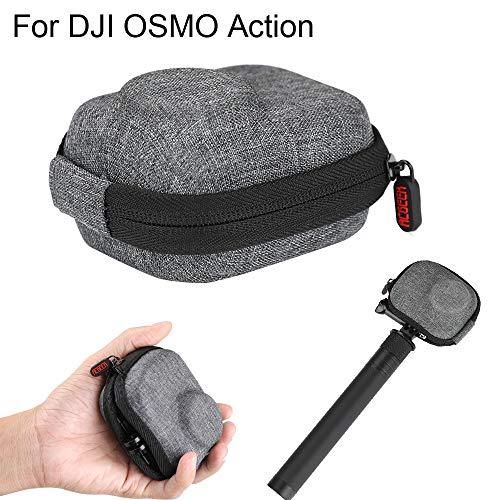AMhomely Sportkamera Mini Aufbewahrungstasche Für DJI OSMO Action - Für OSMO Action Zubehör Mini Storage Carry Pouch Tasche Aufbewahrungsbox
