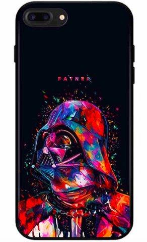 Art Design Hülle für iPhone 7 / iPhone 8 Star Wars Dark Vador Father Soft Silikon