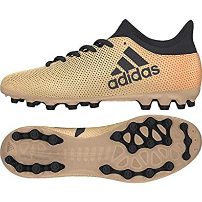quality design 06c64 8dc11 adidas X 17.3 AG, Scarpe da Calcio Unisex-Bambini, Oro TagomeCblack