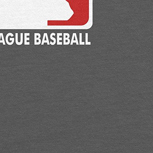 Planet Nerd Stranger League Baseball - Damen T-Shirt Grau