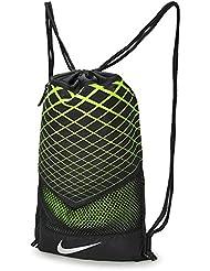 Nike NK VPR Gymsack, Unisex, Nk Vpr Gymsack, Black/Volt/Metallic Silver