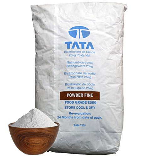 SODIUM BICARBONATE of Soda | 25KG BAG | 100% BP/Food Grade | Bath, Baking,  Cleaning by Hexeal Chemicals