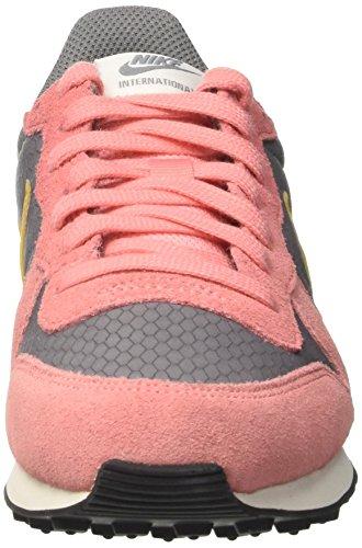 Nike Wmns Internationalist, Scarpe Da Ginnastica Donna Grigio (cool Grey / Gold Dart / Brt Melon / Sail / Black)