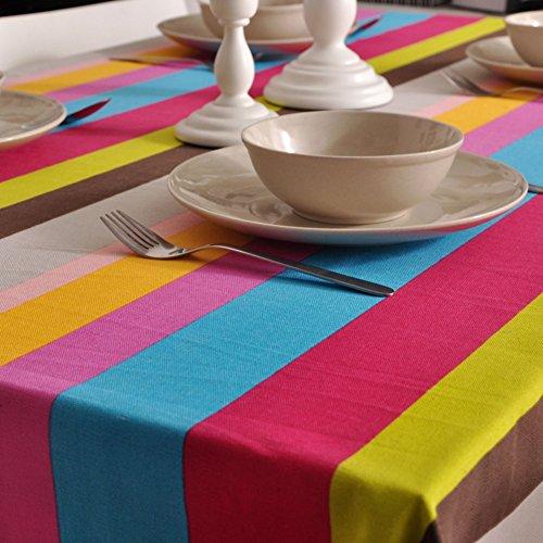 BATSDCB Abstract Vintage Gestreifte tischdecke, Geometrische Vertikale Streifen Essen Zimmer küche...