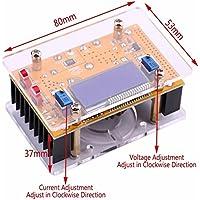 DC-DC BUCK AJUSTABLE Estabilizador del conversor de tensión 7-40V 1.5-35v 10A PANTALLA LCD constante tensión amplificador 4V 6V 12V 14V 24V paso hacia abajo el módulo de alimentación regulador de voltaje Voltímetro amperímetro con caparazón protector