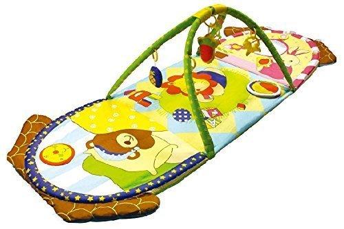 Alfombras de juego y gimnasio para bebés, mantas de actividades reversible conejito. Regalo bebé