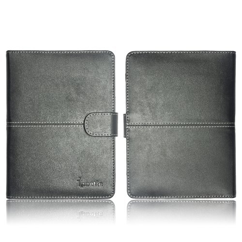 Poetic Slimbook Case for Amazon New Kindle Paperwhite with Backlight BLACK